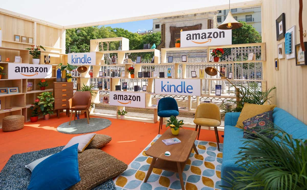 Pop Up Amazon Madrid