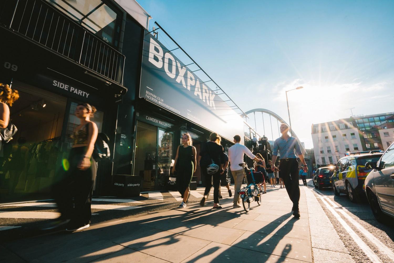 Boxpark en Shoreditch, Londres