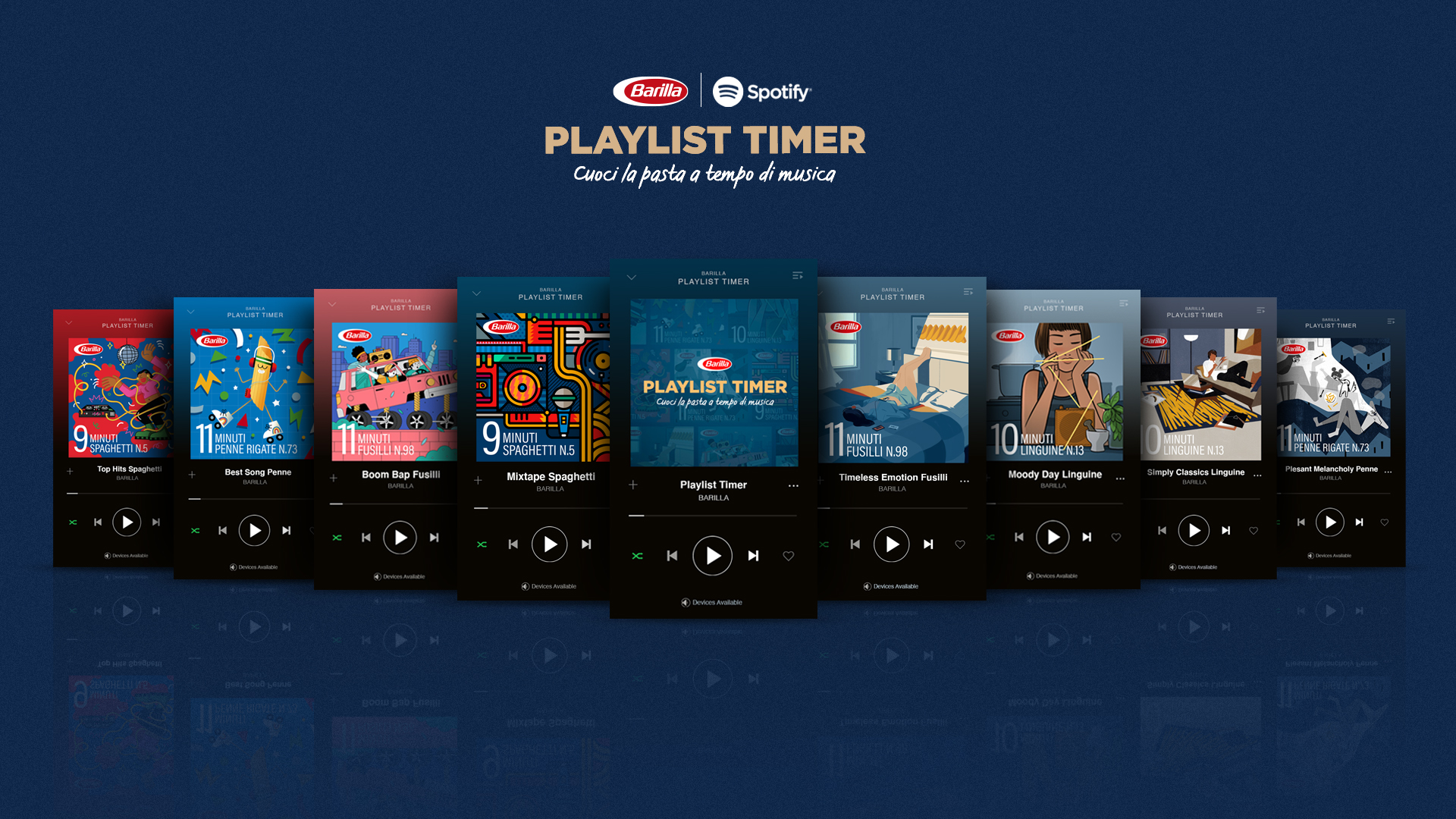 Playlists de Barilla