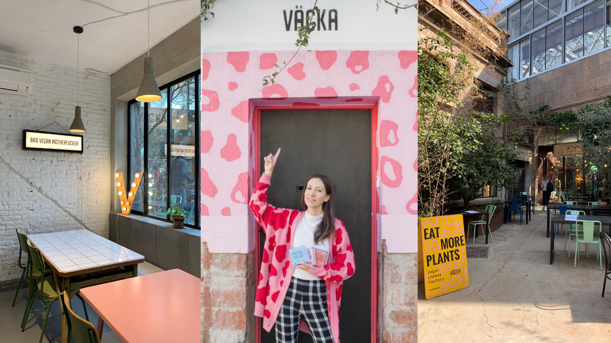 Väcka, quesería y restaurante 100% vegano en Barcelona