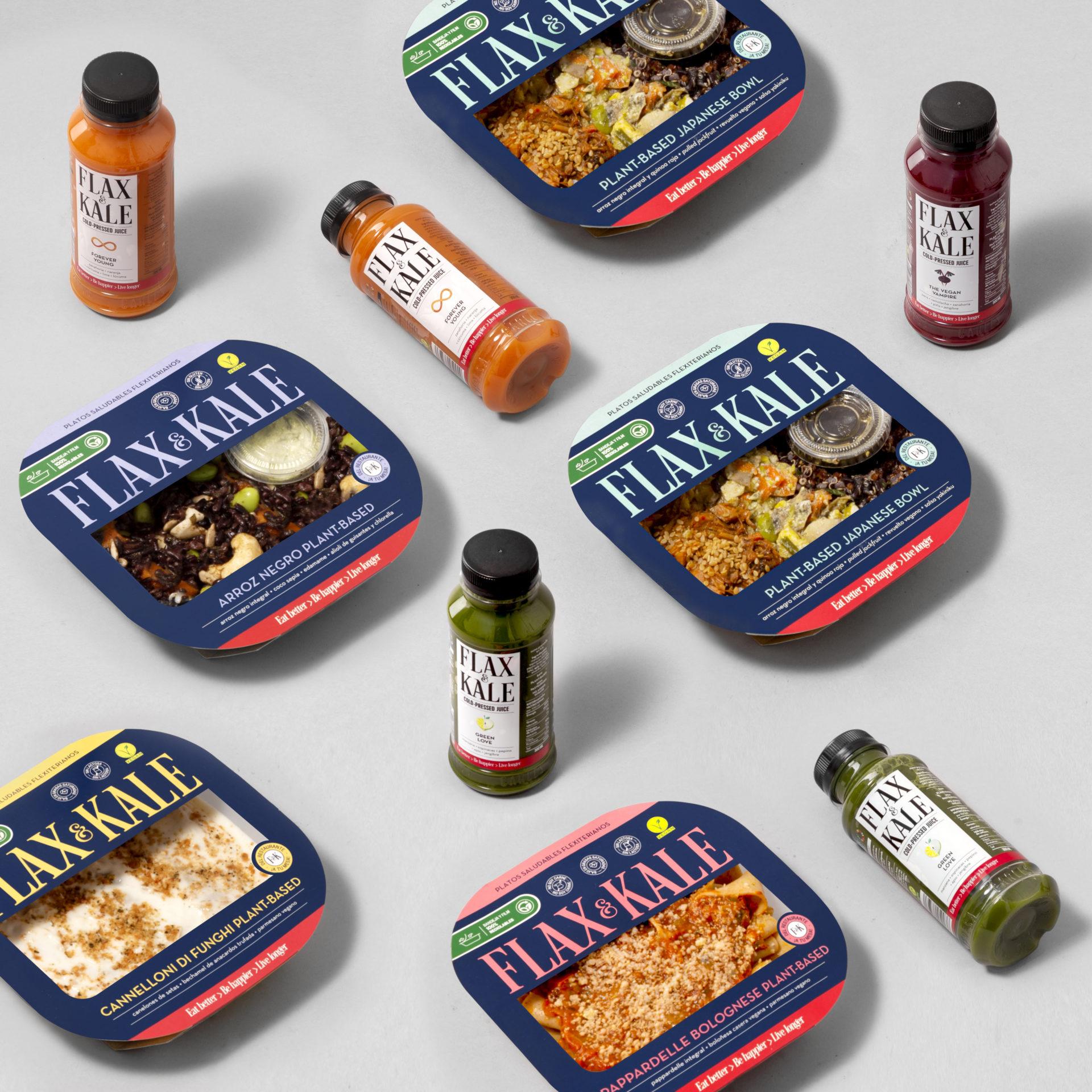 Flax & Kale Goods. Imagen vía Restauración News.