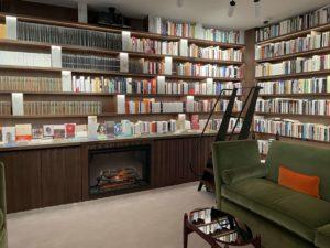 Interior de la Libreria Finestras