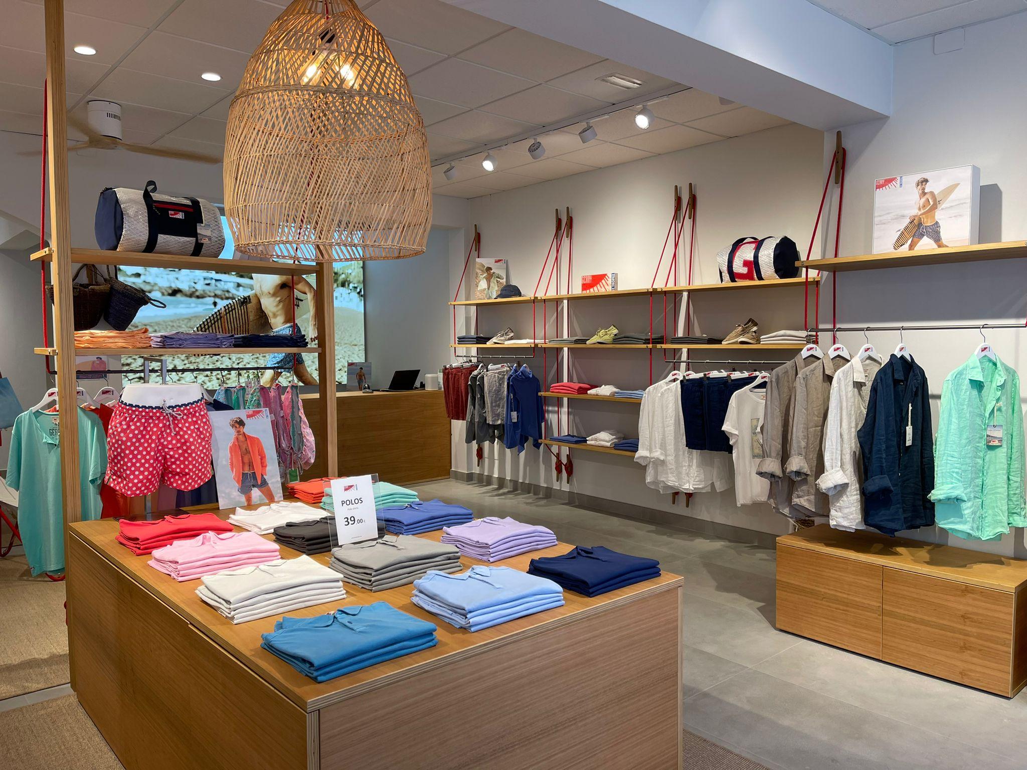 nueva tienda Gerry St. Tropez en Formentera